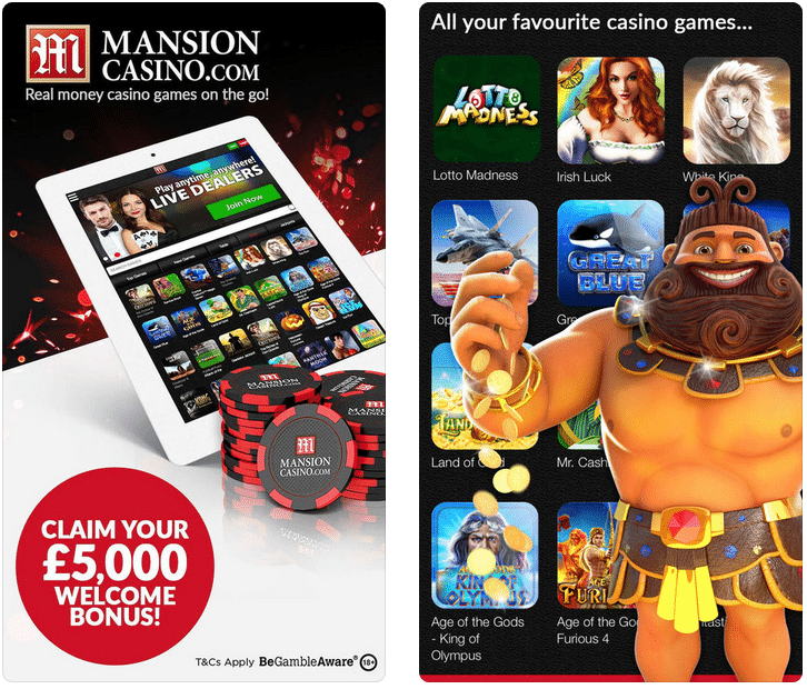 Mansion Casino Promo Code 2019: SPINMAX is your code