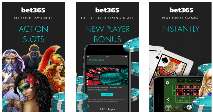 Top Offers at Bet365