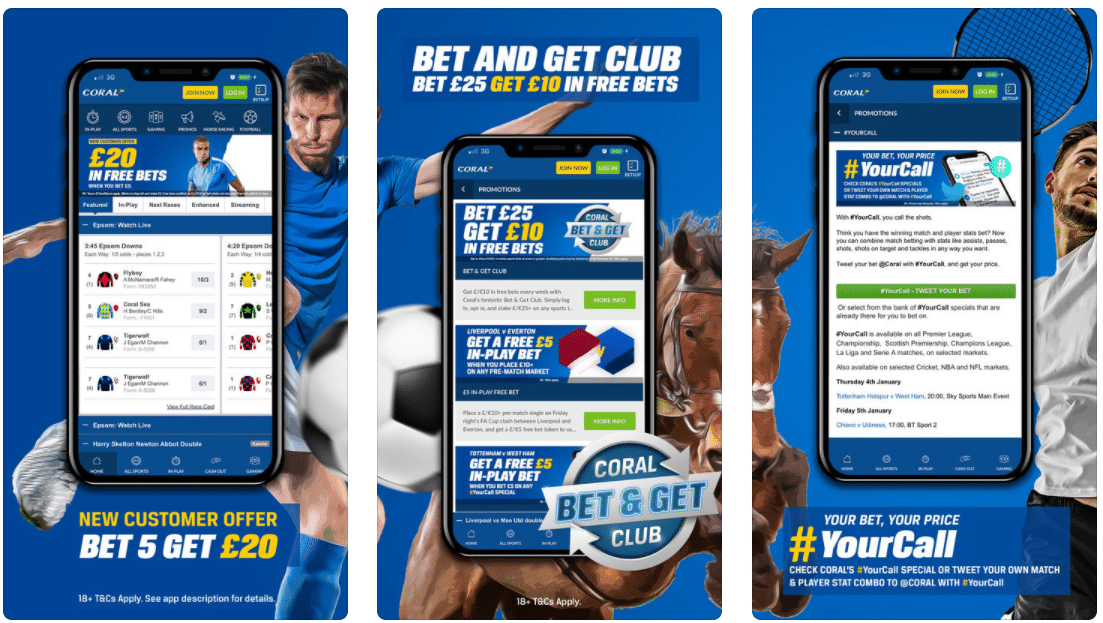 Coral Betting App Review for UK