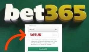 Bet365 Bonus Code - 365UK