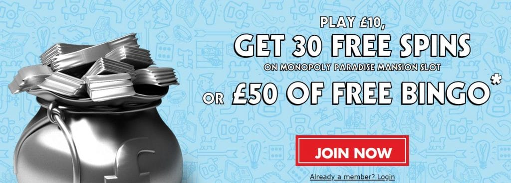 Monopoly Casino Sign Up Offers