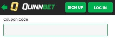 Enter the quinnbet coupon code here
